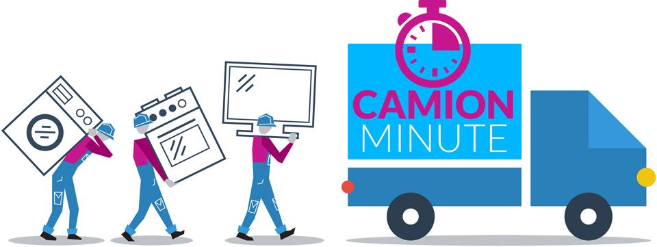 presentation de la societe demenagament camion minute